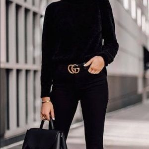 Alice and Olivia Black Pullover Sweater